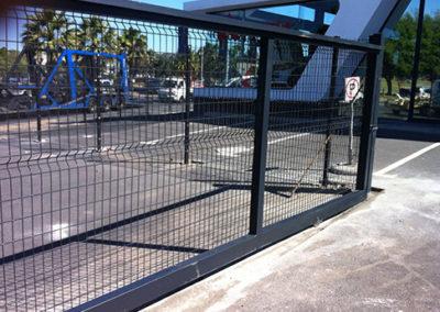 Betafence Nylofor Medium Driveway Gate