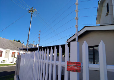 6-Strand Electric Fence on Palisade