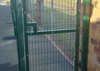 Nylofor 3m Pedestrian Gate_Green